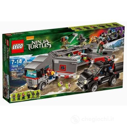 Fuga sulla neve con il Big Rig - Lego Teenage Mutant Ninja Turtles (79116)