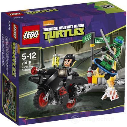 Fuga sulla moto di Karai - Lego Teenage Mutant Ninja Turtles (79118) (79118)