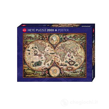 Puzzle 2000 Pezzi - Mondo Vintage