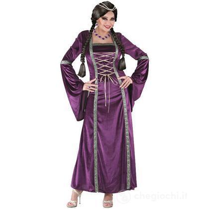 Costume adulto Principessa Medievale M(01672)