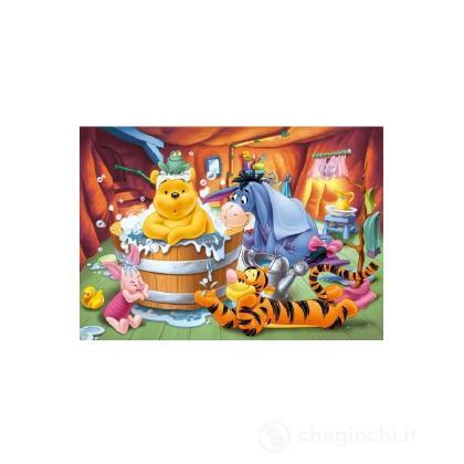 Puzzle 104 pezzi Winnie the Pooh bath time
