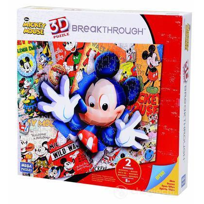 Puzzle 3D Topolino
