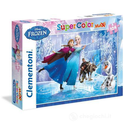 Frozen Ice Skating Maxi Puzzle 104 Pezzi (23679)