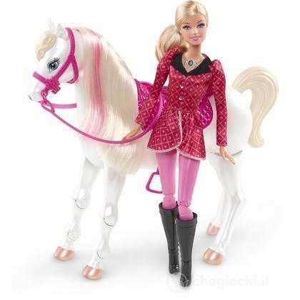 Lezione di Equitazione Barbie e il Cavallo Leggendario (Y6858)