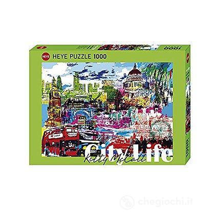 Puzzle 1000 Pezzi - I Love London!