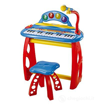 Tastierina 31 tasti con microfono