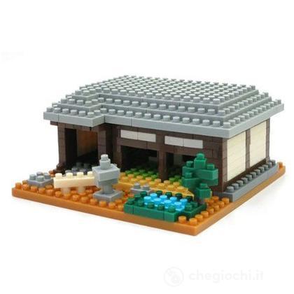 Casa tradizionale giapponese set costruzioni nanoblock for Casa giapponese tradizionale