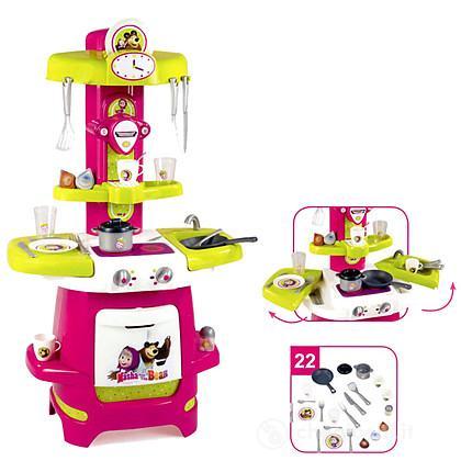 Cucina masha e l 39 orso 7600310700 cucina smoby for Masha giocattolo