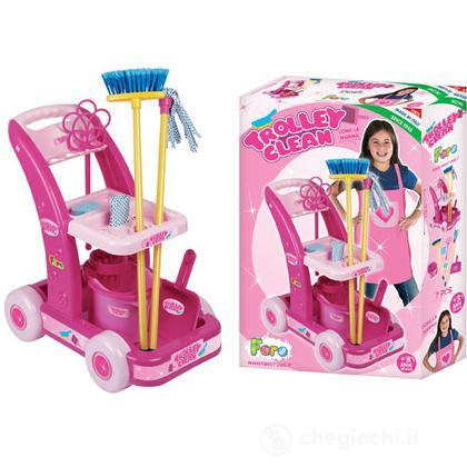 Trolley Clean Pink