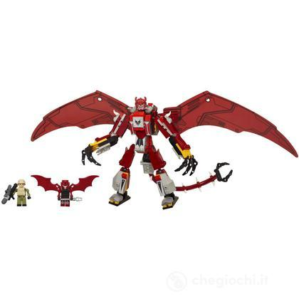 Kre-O Tra Ripclaw Red Dragon