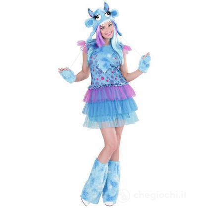 Costume adulto Monster Girl Blu M (01702)
