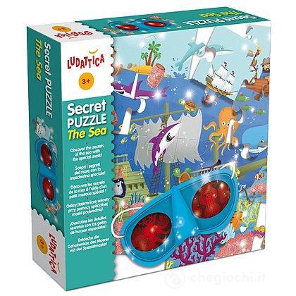 Secret Puzzle The Sea (47024)