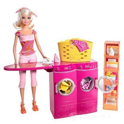 Barbie e i suoi arredamenti - Lavanderia (T7182)