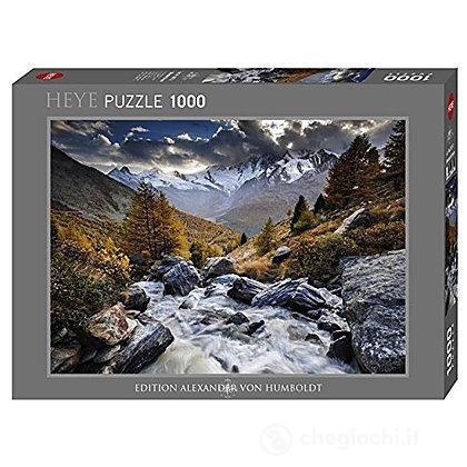 Puzzle 1000 Pezzi - Ruscello di Montagna