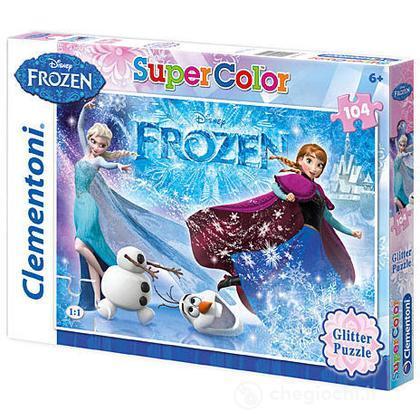 Puzzle Super Color 104 pezzi Frozen (29712)