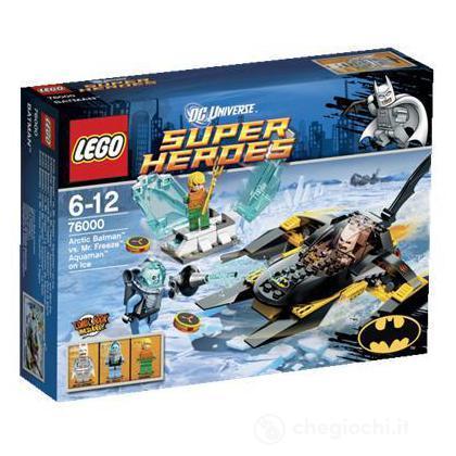 Batman e Aquaman contro Mr. Freeze - Lego Super Heroes (76000)