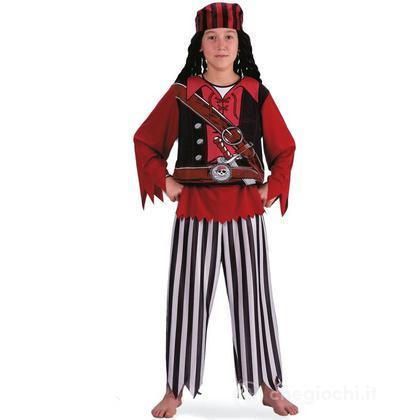 Costume Pirata in busta taglia VII (68714)
