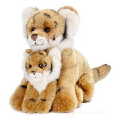 Tigre madre e cucciolo