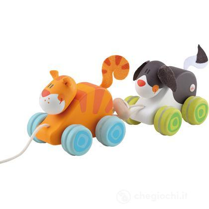 Trainabile Duo Cane & Gatto (82718)