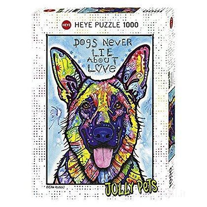 Puzzle 1000 Pezzi - Dogs Never Lie