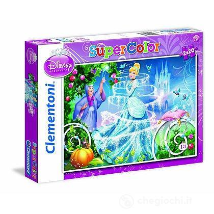Cenerentola Cinderella Puzzle 2x20 pezzi (24733)