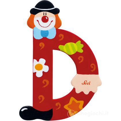 Lettera D Clown