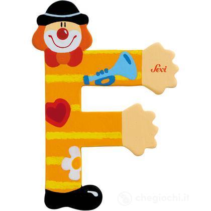 Lettera F Clown