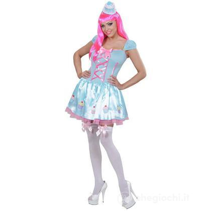 Costume adulto Candy Girl L (01743)