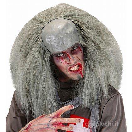 Copricapo Zombie con Capelli in Taglia Unica