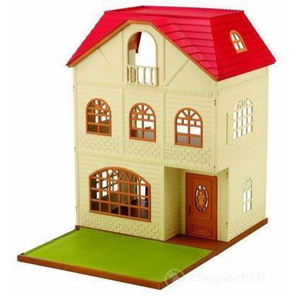 Casa a 3 piani con terrazzo vuota 2745 playset e for Piani di casa con pool house