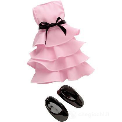 Set vestito rosa piccolo