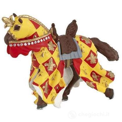 Cavallo medievale rosso (39754)