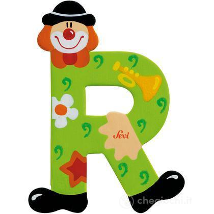 Lettera R Clown