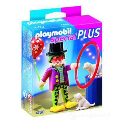 Clown con cane ammaestrato (4760)
