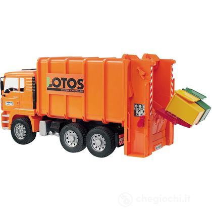 Camion trasporto rifiuti MAN TGA in scala 1:16 (02762)