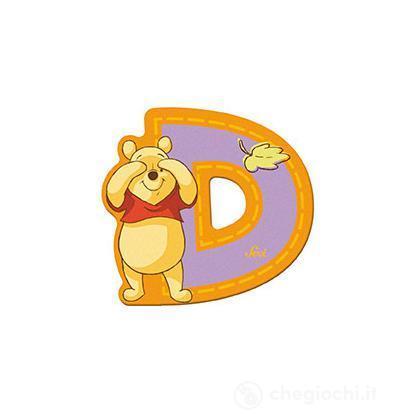 Lettera adesiva D Winnie the Pooh (82762)