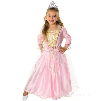 Costume principessa Rosa taglia 60 cm (885276)