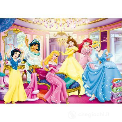 Puzzle 104 pezzi -Princess - Dress Room (27763)