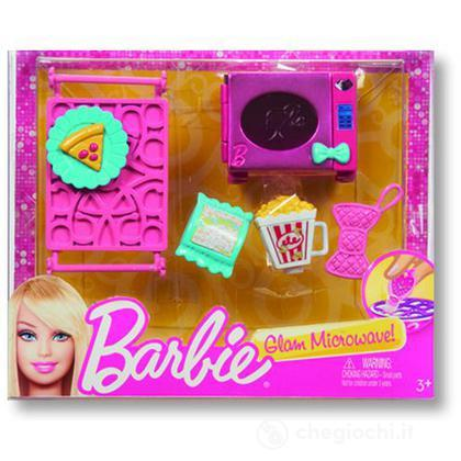Set Microonde - Barbie mini accessori casa (X7932)