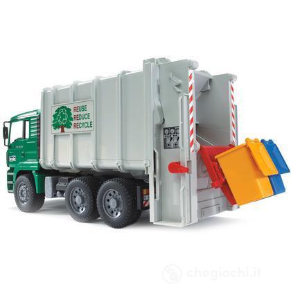 Camion trasporto rifiuti MAN TGA (02764)