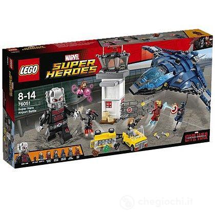 Battaglia in aeroporto Captain America 3 - Lego Super Heroes (76051)