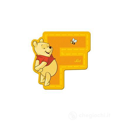 Lettera adesiva F Winnie the Pooh (82764)