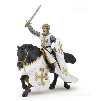 Cavallo del cavaliere cotta di maglia (39770)