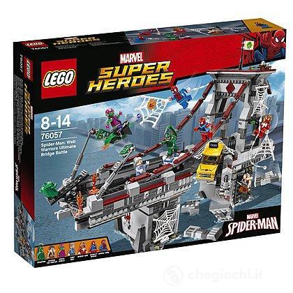 Spider-Man: la battaglia sul ponte - Lego Super Heroes (76057)