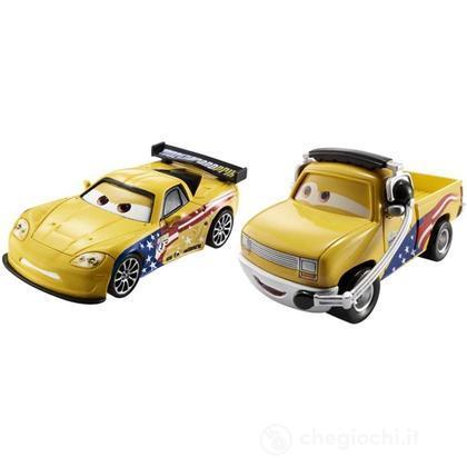 Lassetire e Jeff Gorvette - Cars confezione da 2 (BDW85)
