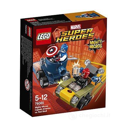 Mighty Micros: Captain America contro Teschio Rosso -Lego Super Heroes (76065)