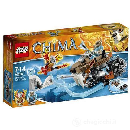 Il Ciclo-sciabola di Strainor - Lego Legends of Chima (70220)