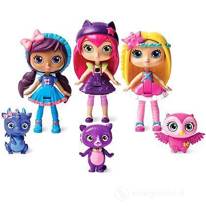 Confezione regalo 3 bambole Little Charmers (6026683)