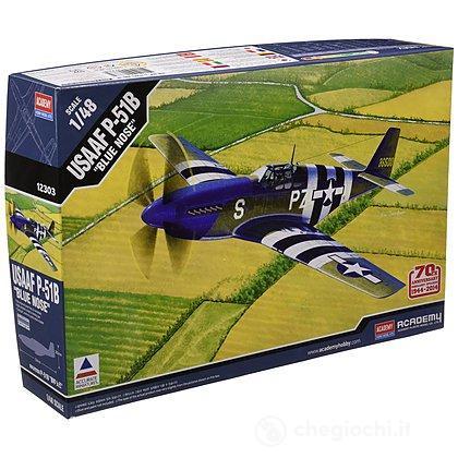 Aereo Usaaf P-51b Blue Nose (AC12303)