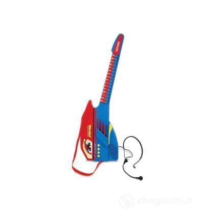 Chitarra elettrica con microfono Spider Man